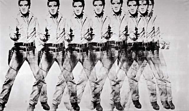 Course Artwork – Andy Warhol, Eight Elvises, 1963