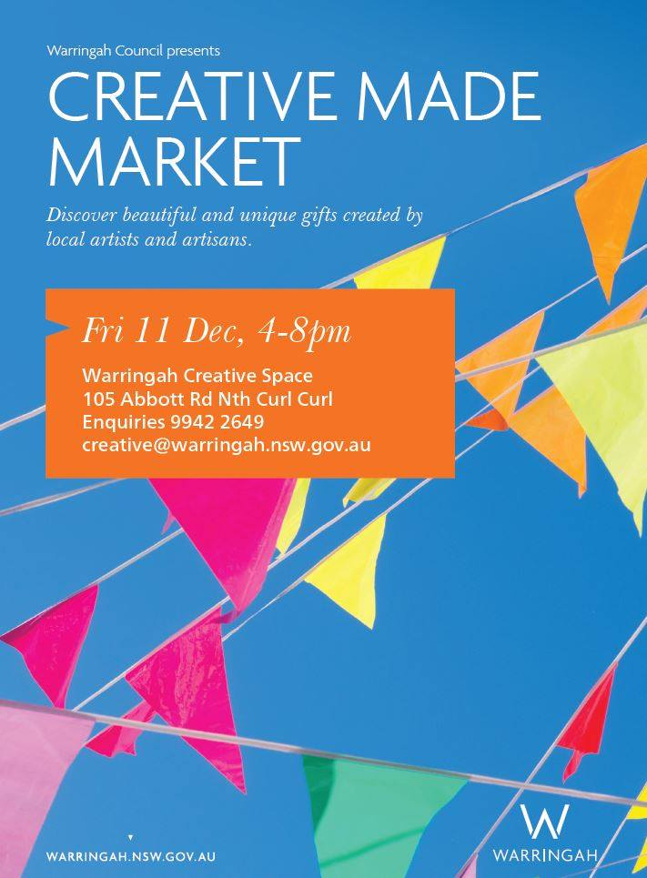 Creative Made Market flyer