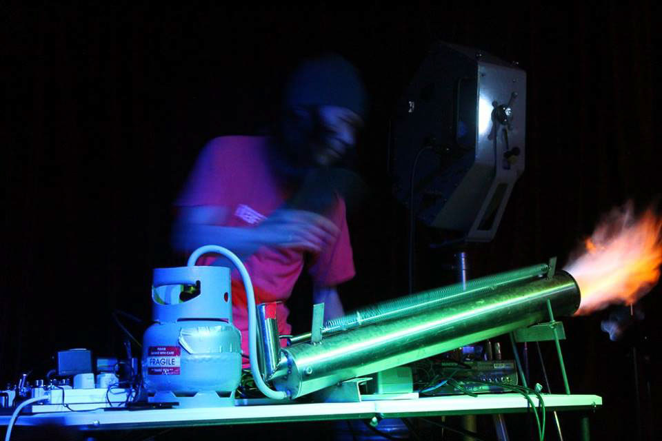 Defektro, Soundoskope Volume 4, The Kave Bar, Newport 29/03/2017