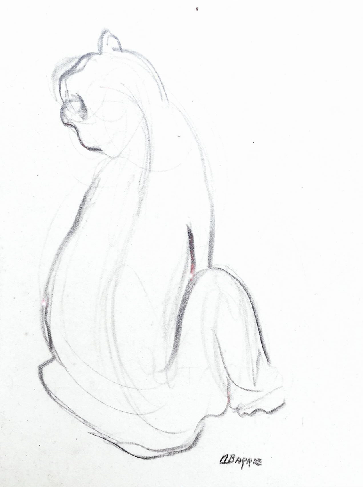 Drawing by May Barrie