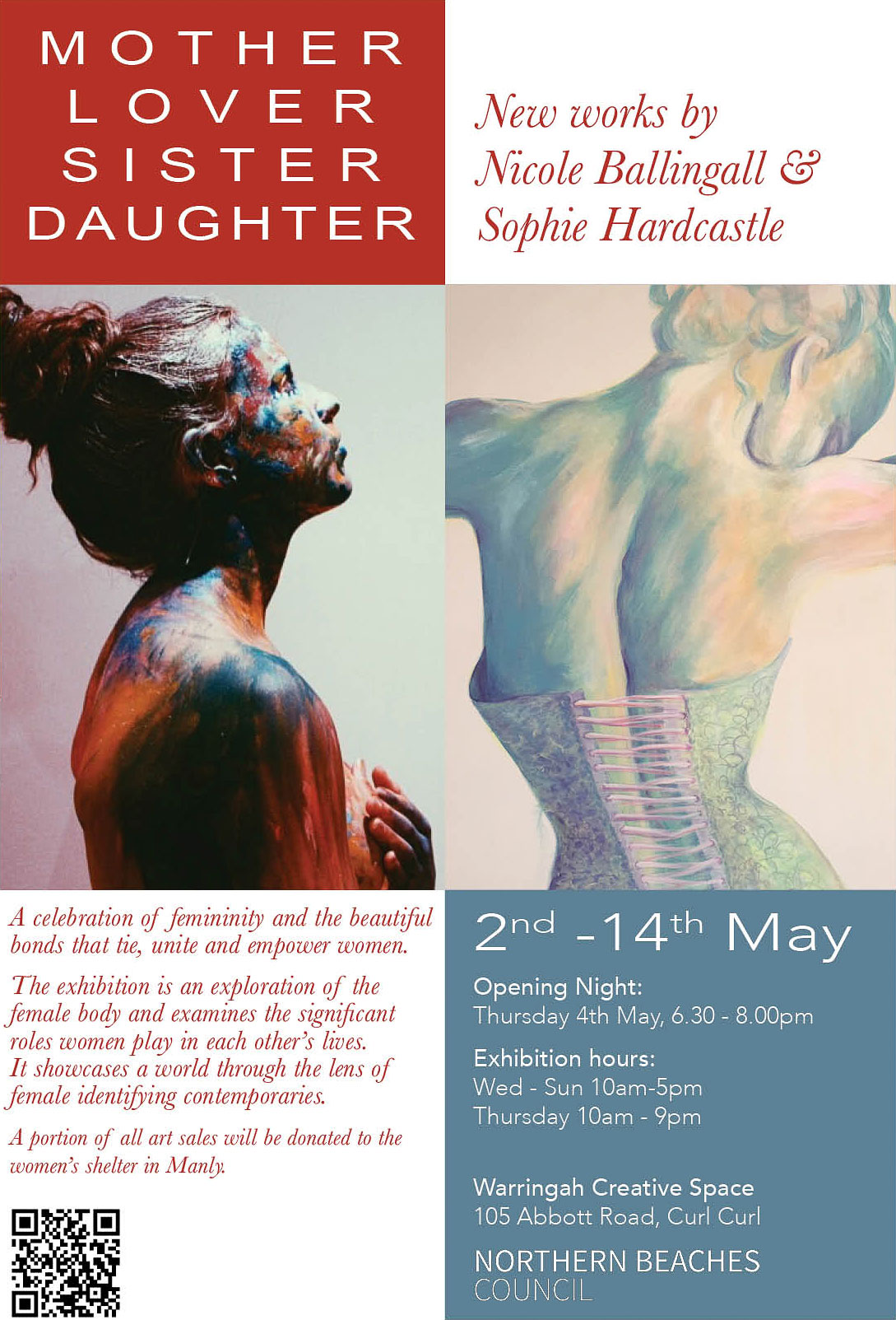ister Daughter Exhibition Poster