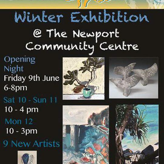 Pittwater Artists Trail Winter Exhibition flyer