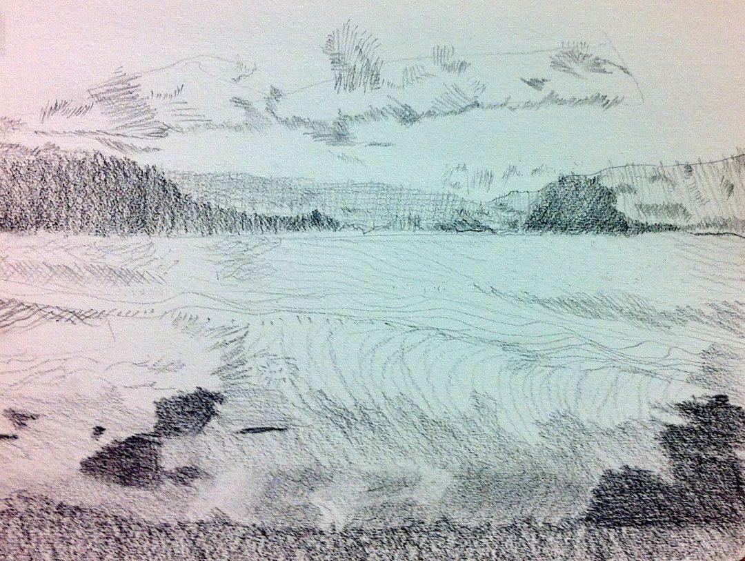 Course Artwork – Narrabeen Lagoon
