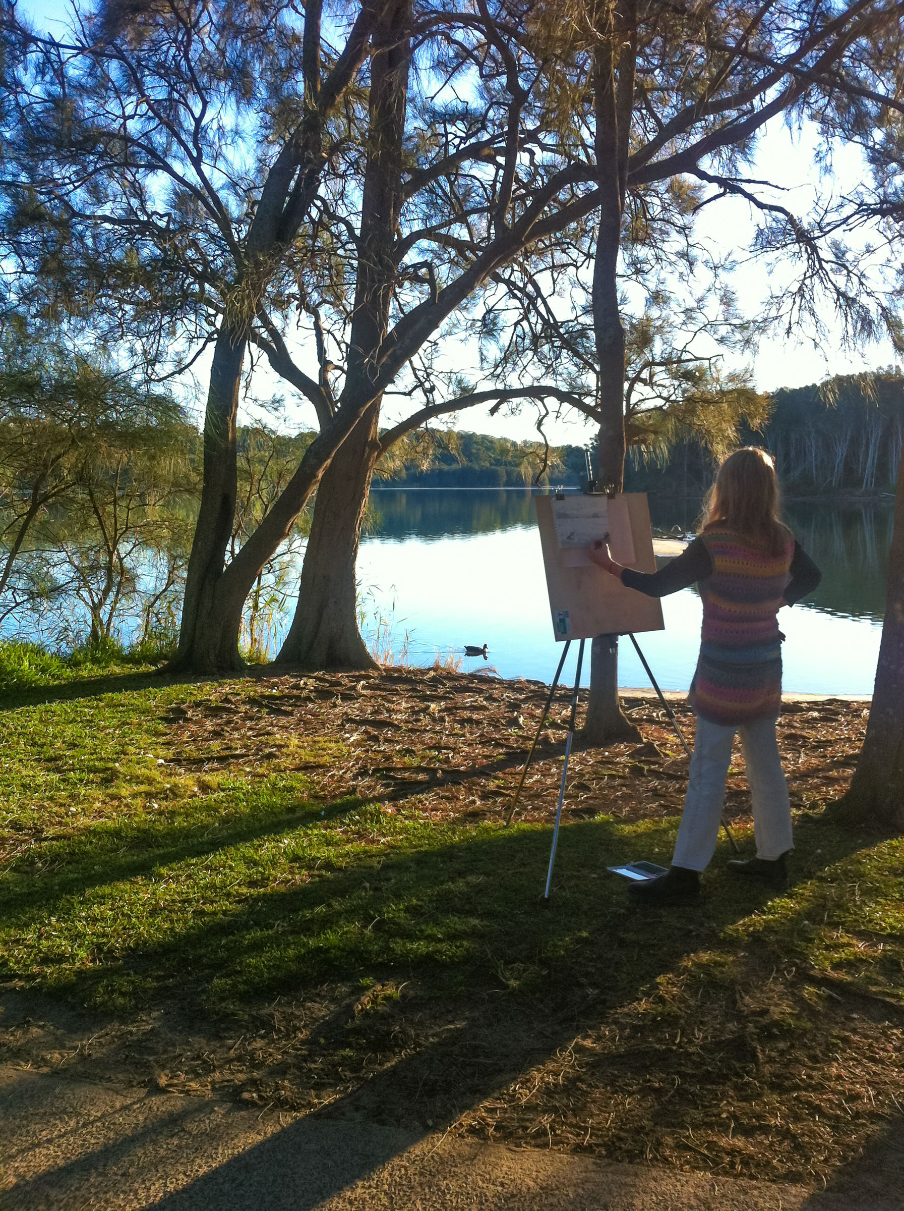 Course Artwork – Drawing - Narrabeen Lagoon