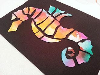 Course Artwork - Seahorse Collage