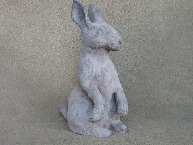 Course Artwork – Rabbit sculpture using Pal Tiya