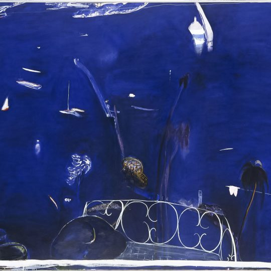 Class Artwork – Abstract Landscapes after Brett Whiteley – click to view class details
