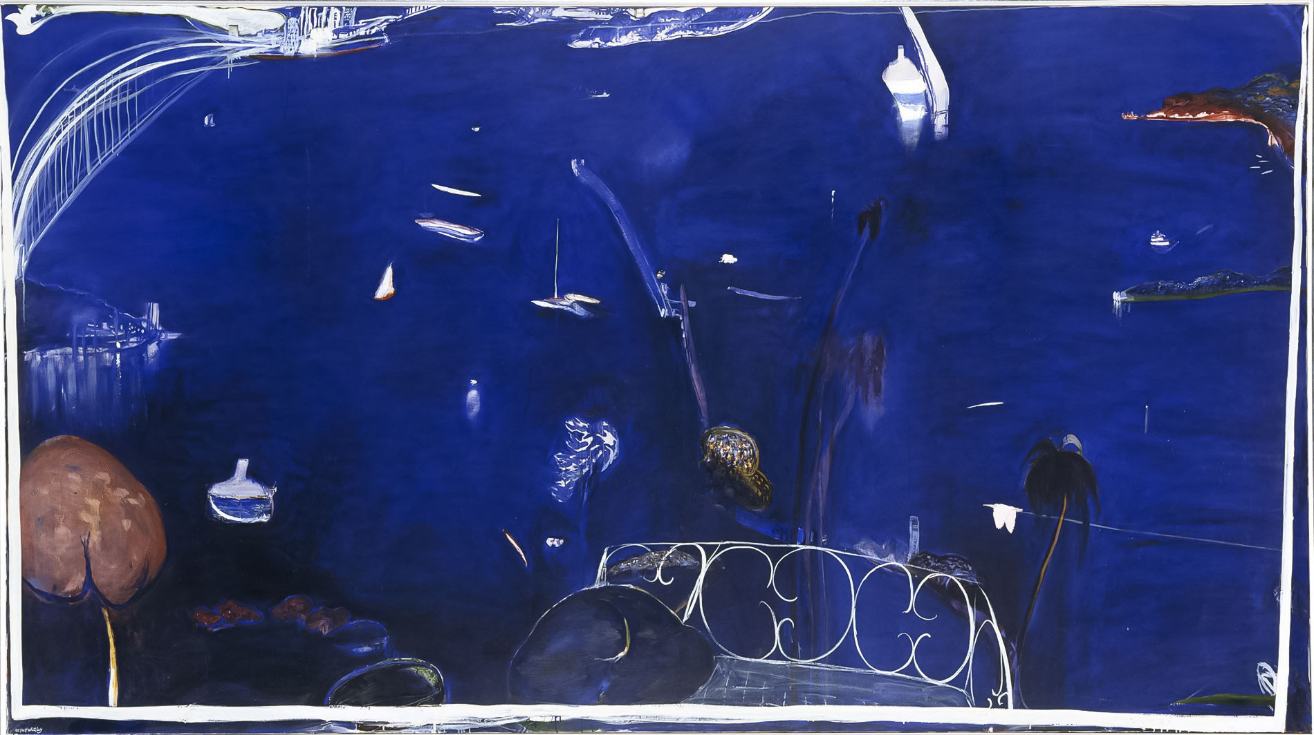 Abstract Landscapes after Brett Whiteley
