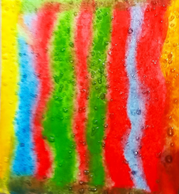 Class Artwork – Abstract Landscape after Fred Williams – Kids Painting Worksho