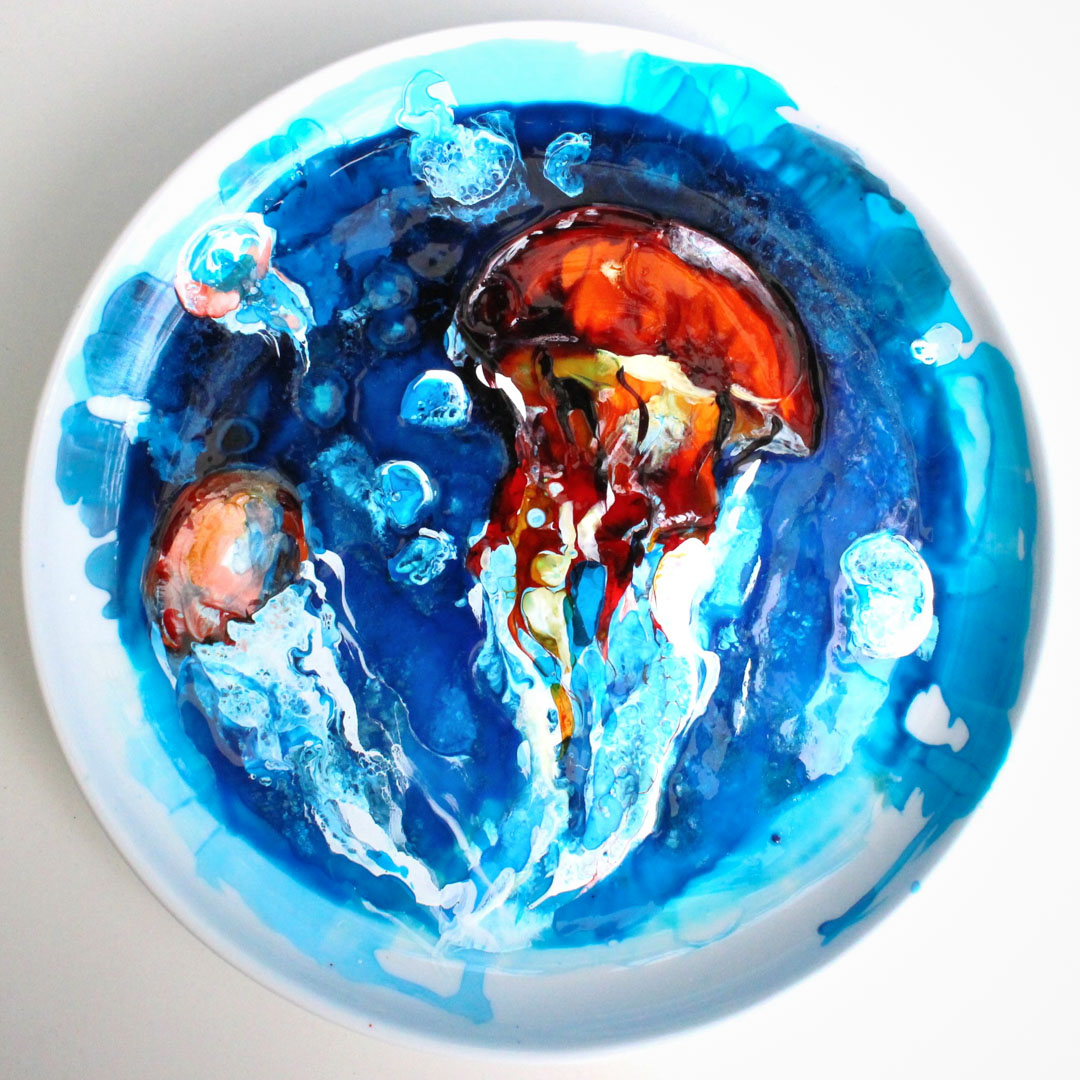Class Artwork – Glass and Ceramic Workshop - Marine Forms