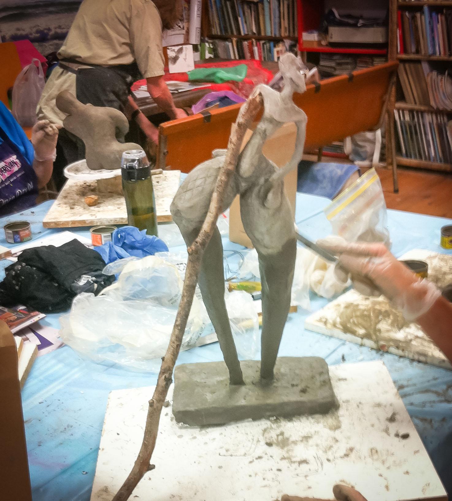 Class Artwork – Pal Tiya Sculpture