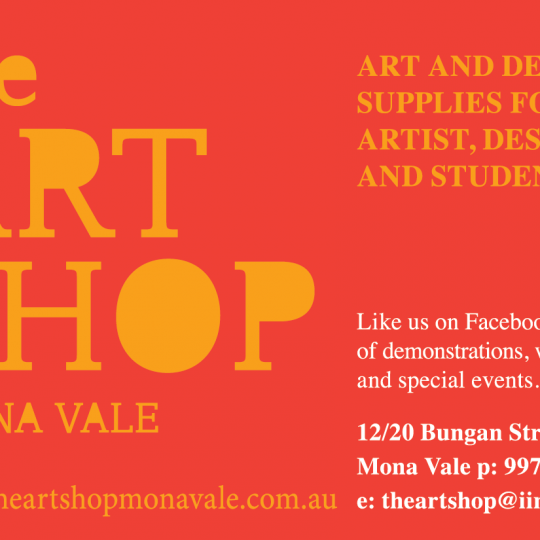 The Art Shop Mona Vale