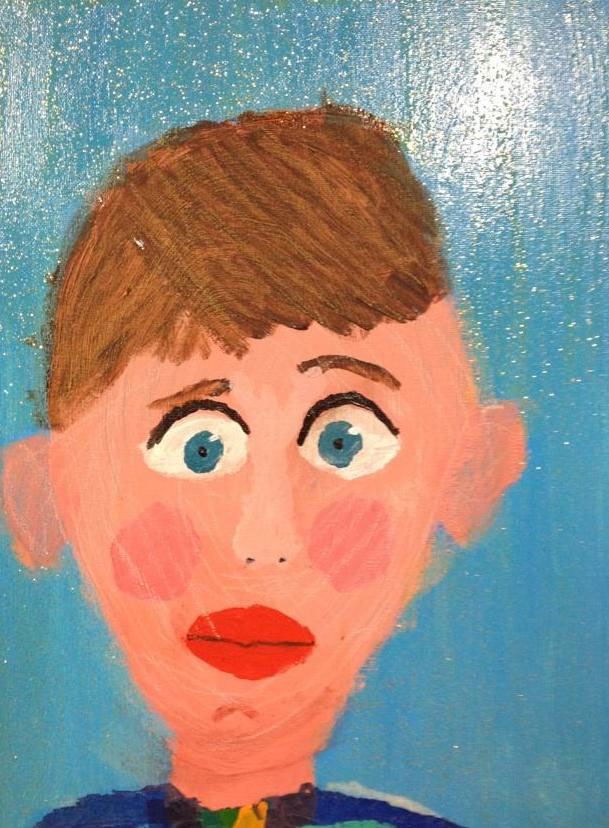 Class Artwork – Self Portrait 2 – Kids Art Club 2018