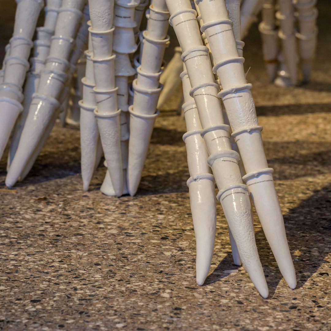 Class Artwork – Graham Hay – Critical Mass – Ceramic Clayworks Southern Ice – Photo: Venice Documentation Project – click to view class details