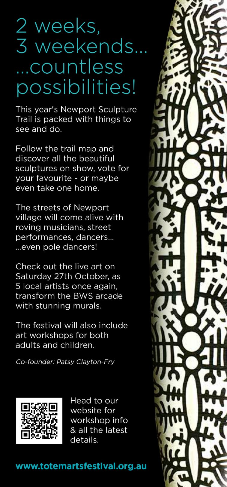 Newport Sculpture Trail 2018 brochure