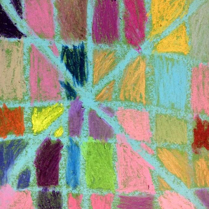 Class Artwork – Tactile Floor Drawing workshop – click to view class details