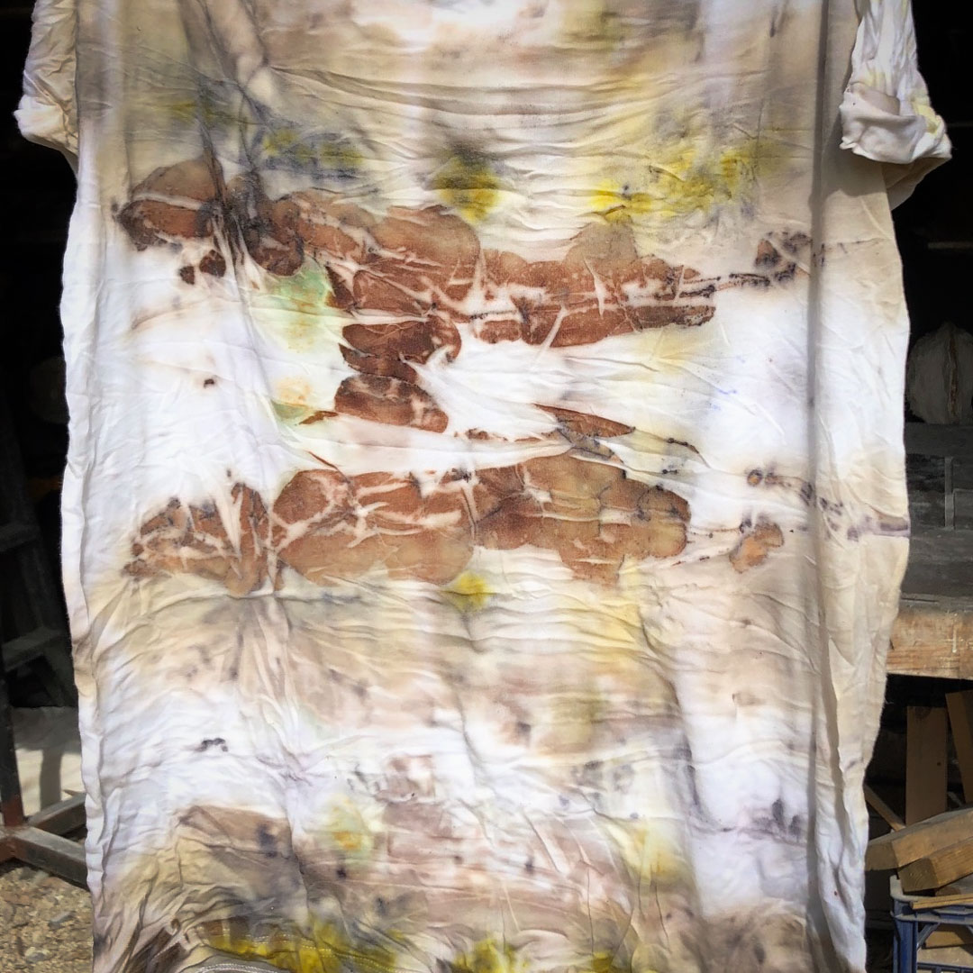 Class Artwork – Kids Eco Dyeing Workshop – click to view class details
