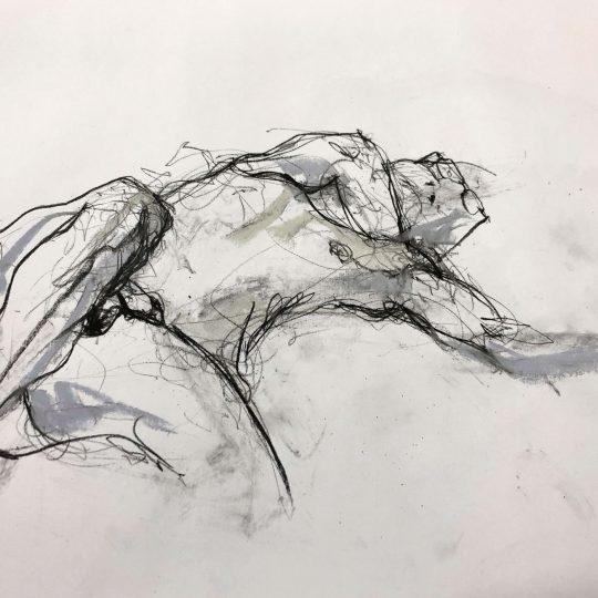 Shane reclining – Graeme Gould, 2018