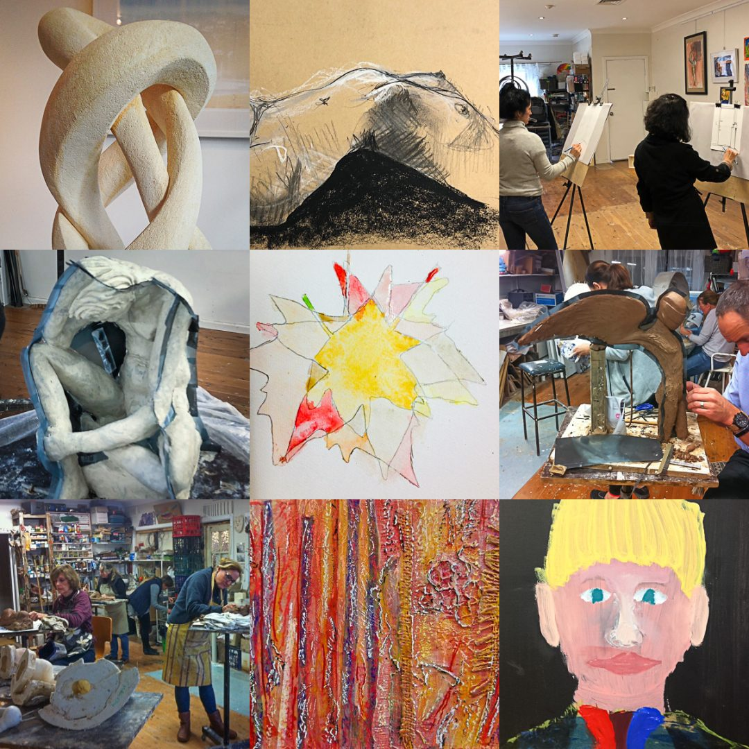Sydney Art Space Term 1 2019 Course Montage