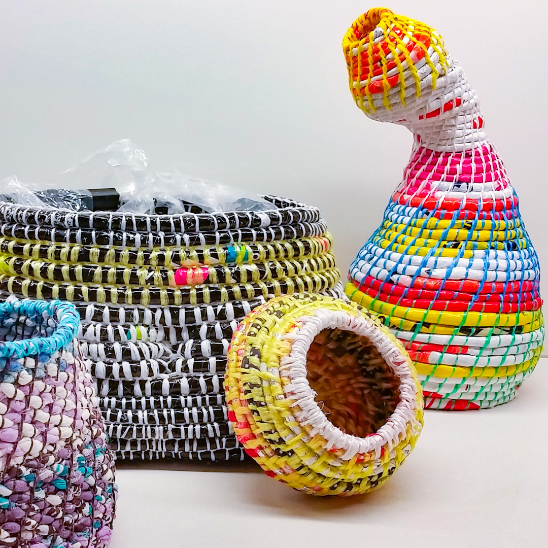 Class Artwork – Coiling and Weaving – click to view class details