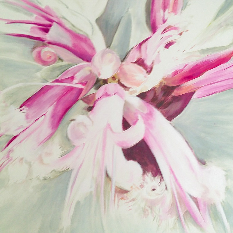 Jane Hodgett painting – click to view class details