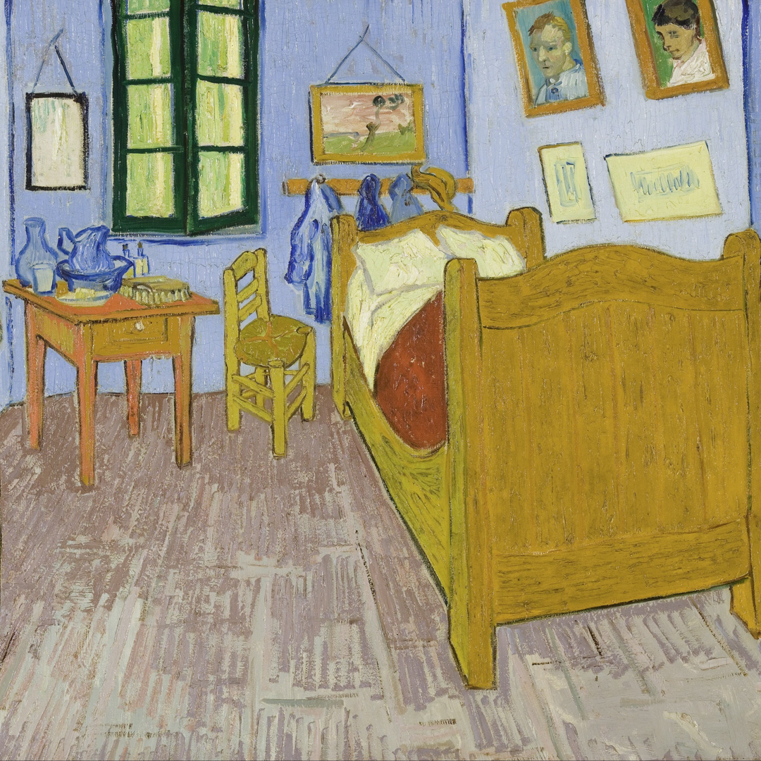Class Artwork – My Bedroom Inspired by Van Gogh – click to view class details