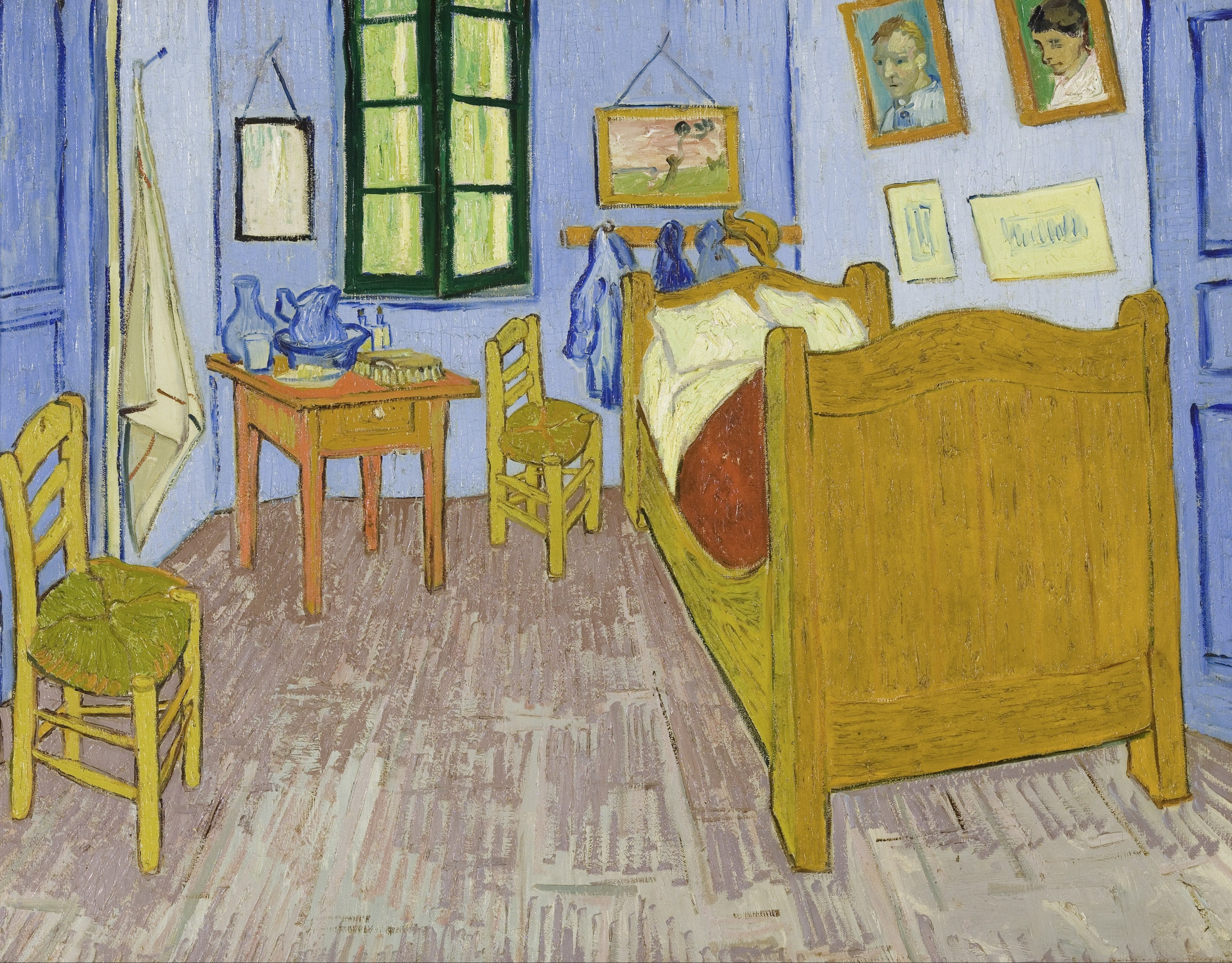 Class Artwork – My Bedroom Inspired by Van Gogh