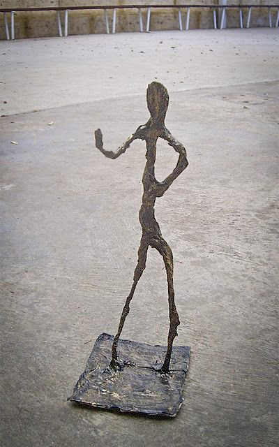 Class Artwork – Sculpted Figure After Giacometti