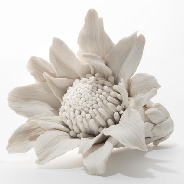 Class Artwork – Michelle Perrett, Porcelain Flowers – click to view class details