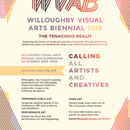 Willoughby Biennale Artist Call Out