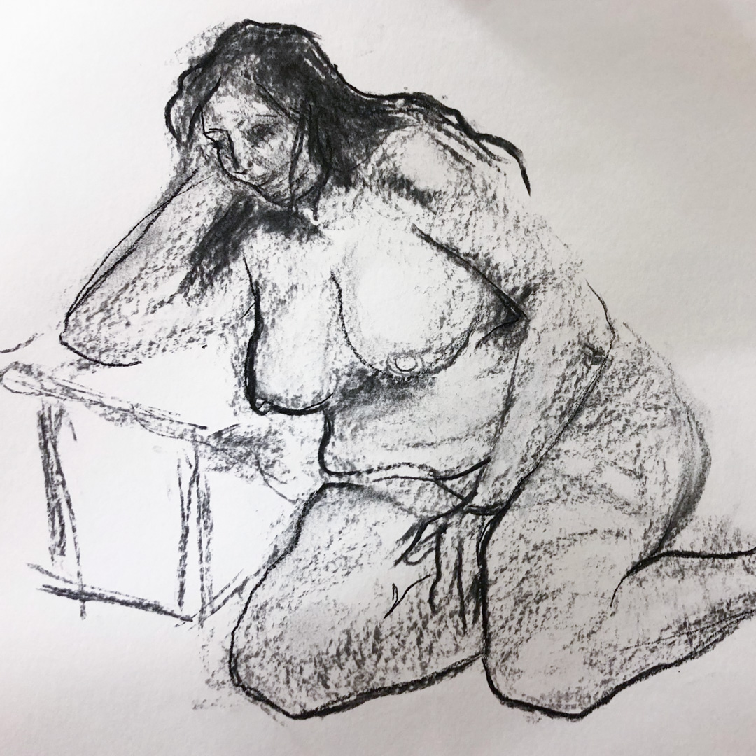 Class Artwork – Lifedrawing - Term 2, 2019 – click to view class details