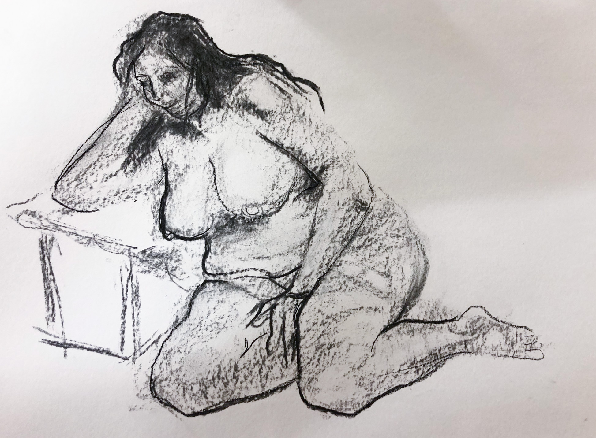 Class Artwork – Lifedrawing - Term 2, 2019