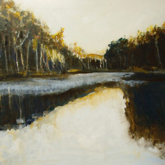 Murray River at Dawn, Rachel Carroll, 120x 90cm, Oil On Canvas