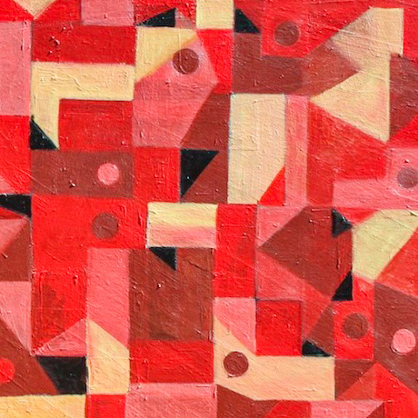 Example Artwork – Abstract Repetition: Drawing, Painting and Collage After Susan O – click to view class details