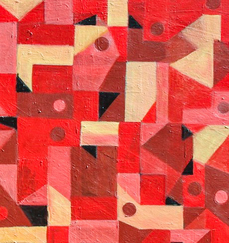 Example Artwork – Abstract Repetition: Drawing, Painting and Collage After Susan O