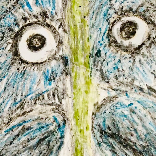 Class Artwork – Powerful Owl: Drawing, Sculpting, Casting Workshop – click to view class details