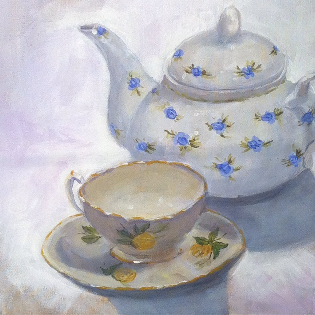 Example artwork – Tea Time, Linda Thursday
