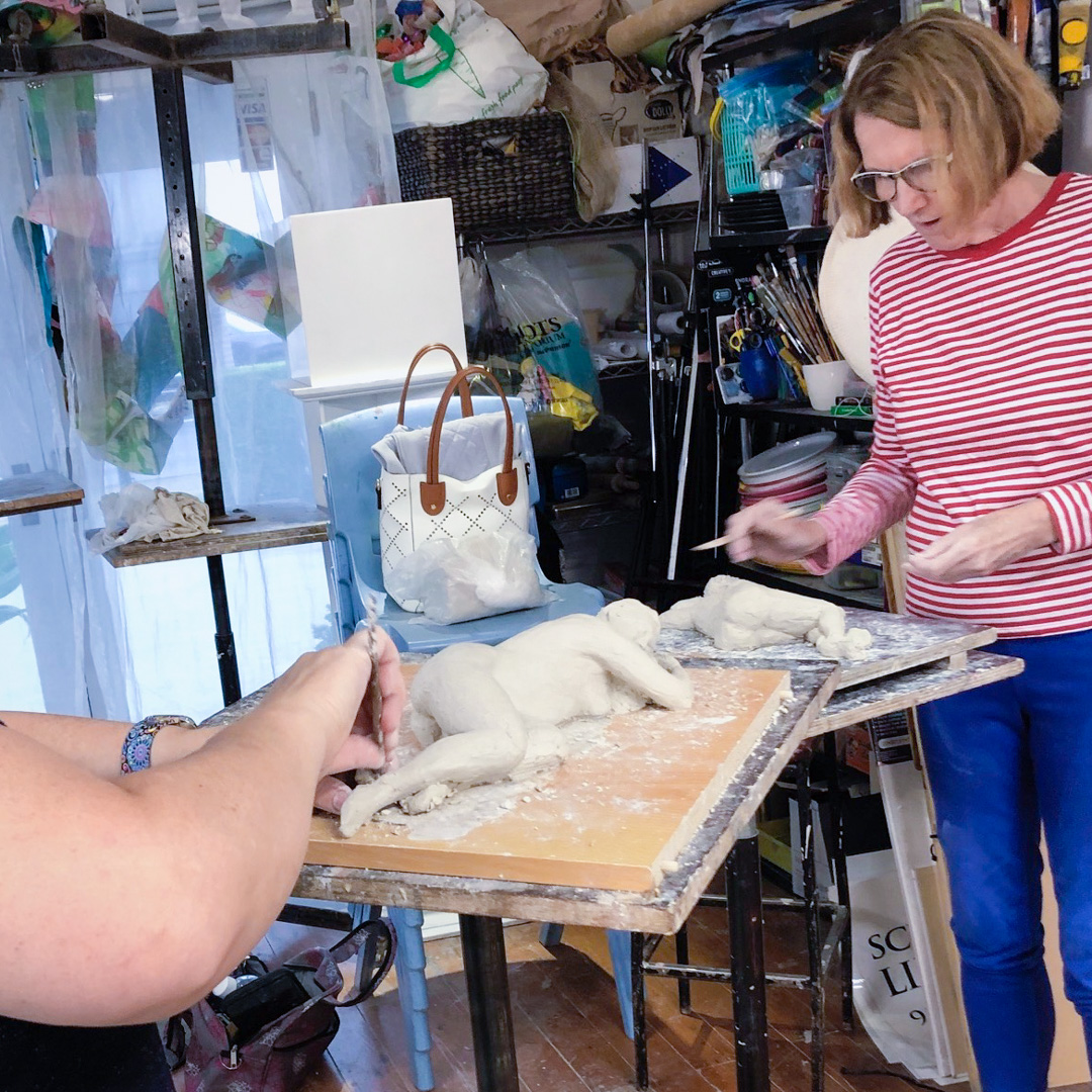 Class Image – Sculpture Intensive - January 2020 – click to view class details