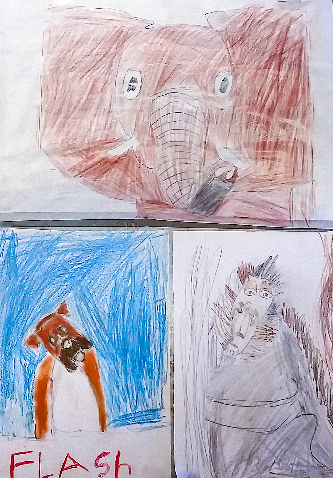 Class Image – Drawing Animals Teens Workshop Artwork