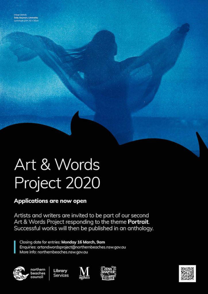 Art Words Project 2020 flyer