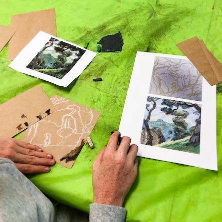 Class Artwork – Teens Art Club - Student Work – click to view class details