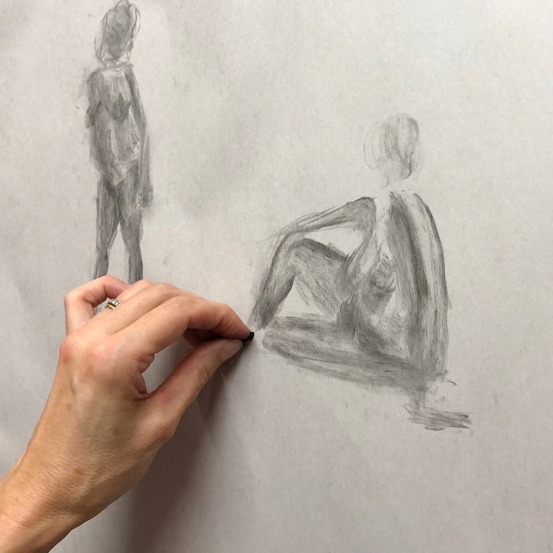Student Artwork - Lifedrawing 2020