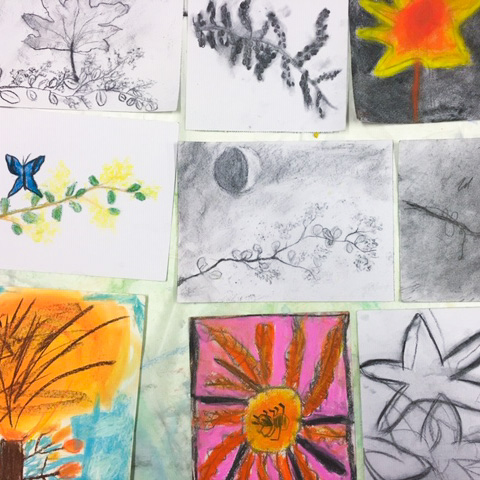 Class Image – Kids Art Club Drawings - 2020 – click to view class details