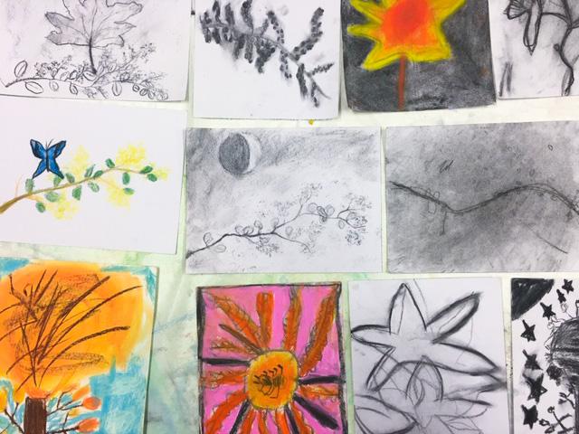Class Image – Kids Art Club Drawings - 2020