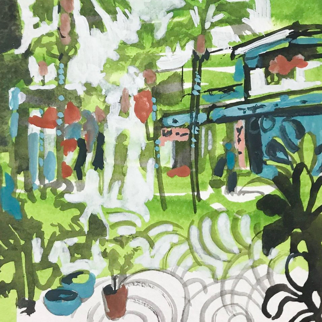 Class Image – Capturing Nature in Gouache – click to view class details