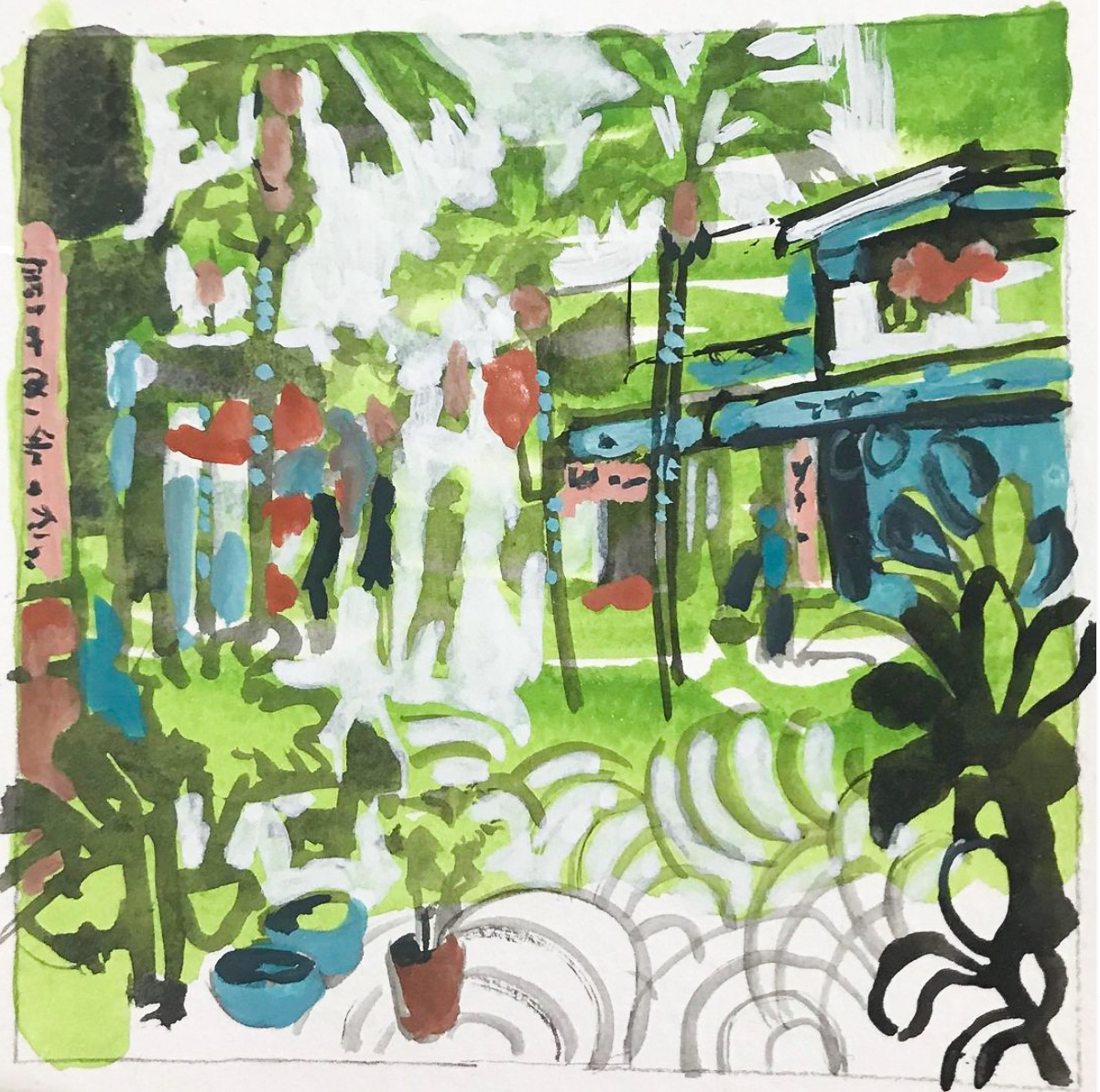 Class Image – Capturing Nature in Gouache