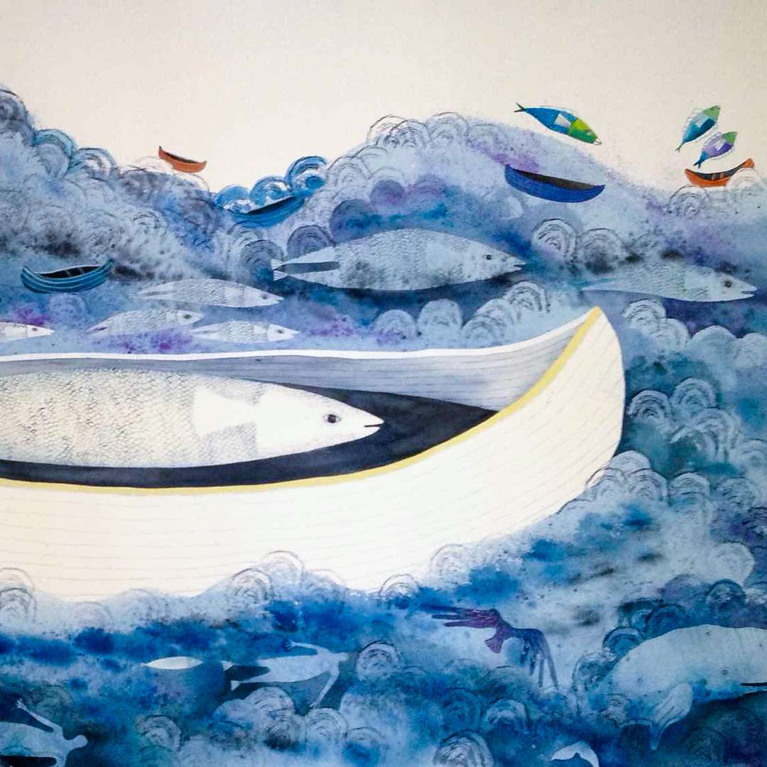 Class Image – Currents Of Memory, Watercolour on Paper, Nettie Lodge – click to view class details