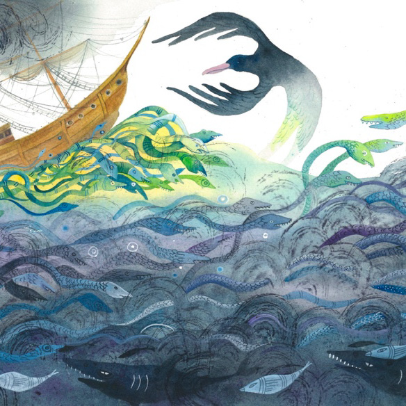 Class Image – Illustration for The Ancient Mariner, by Nettie Lodge – click to view class details