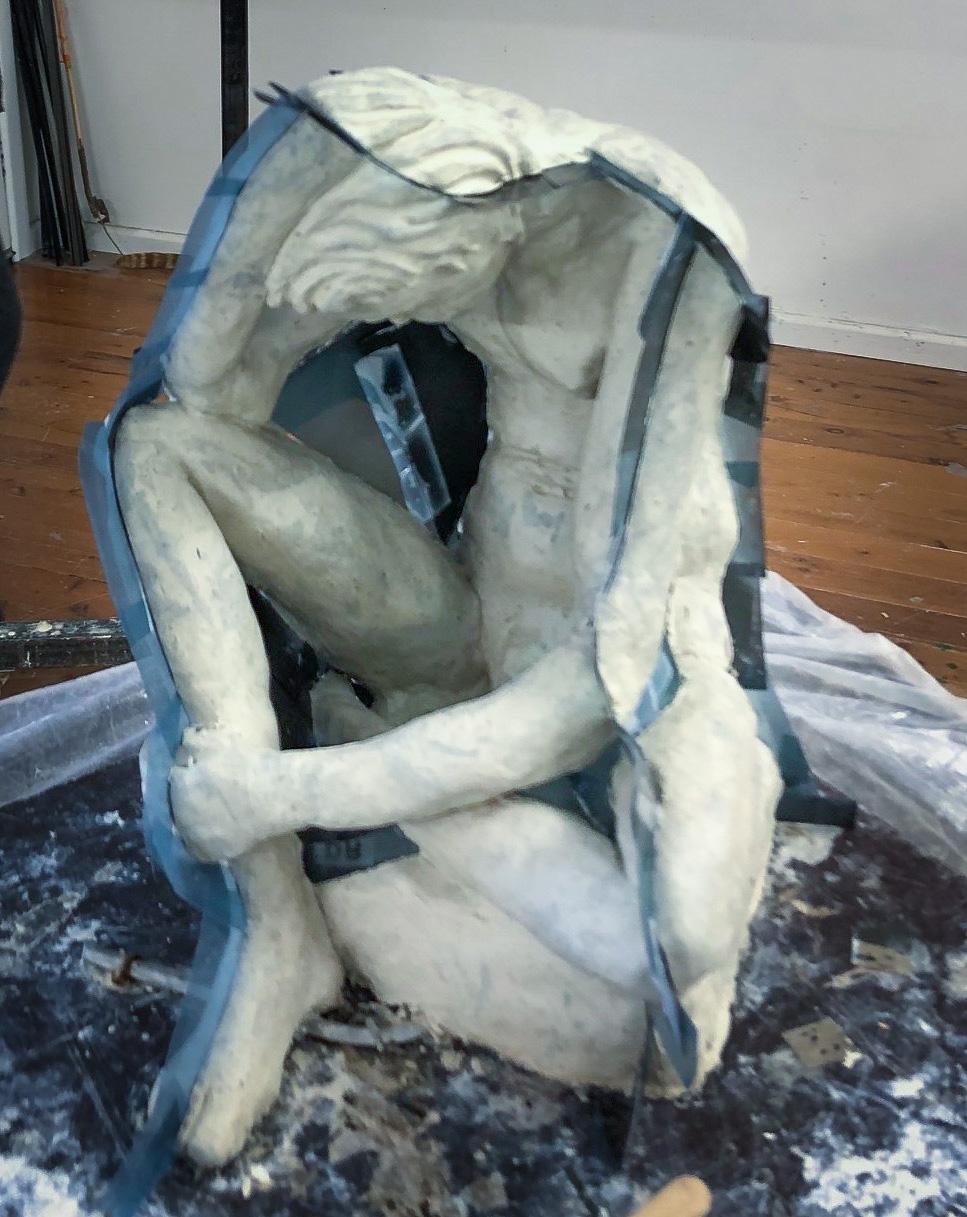 Class Image – Sculpture Lifeclass